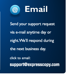 Email our VIP Support Service