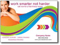 Beauty & Fitness Business Postcard Marketing