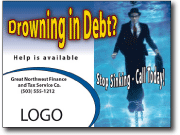 financial services marketing postcard