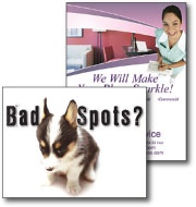 cleaning service direct mail postcards