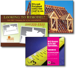 home remodeling direct mail postcards