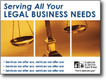 legal service marketing postcards