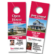 Keller Williams Marketing Materials - Real estate door hanger templates
