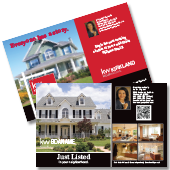 Keller Williams Just Listed postcards