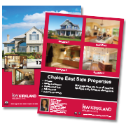 Keller Williams property listing flyers