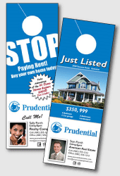 prudential real estate door hangers