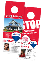 remax door hangers
