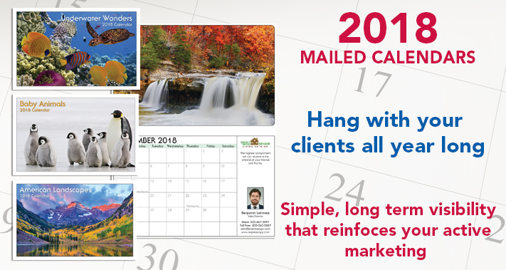 examples of our wall calendars