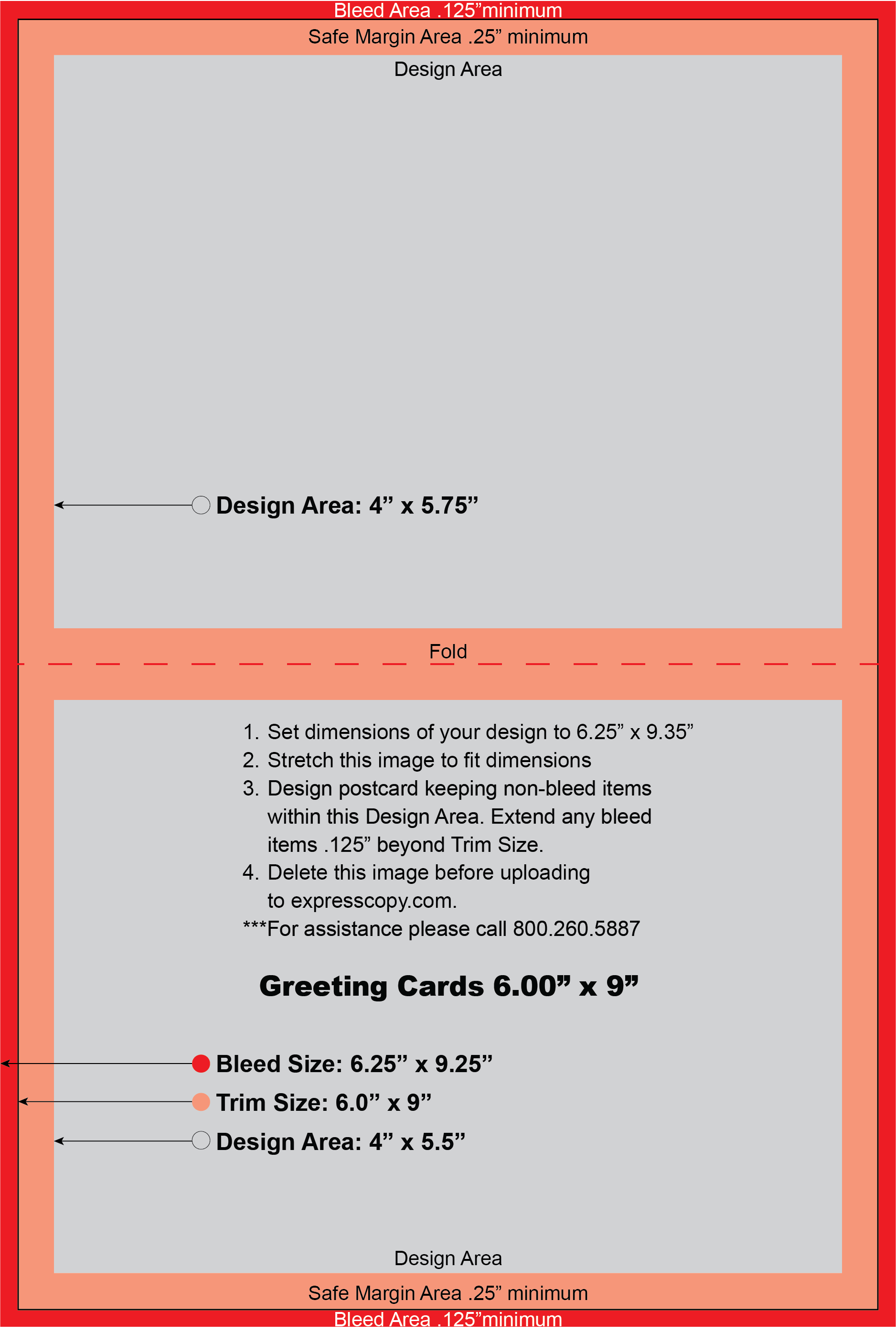 Greeting Card Design Specifications