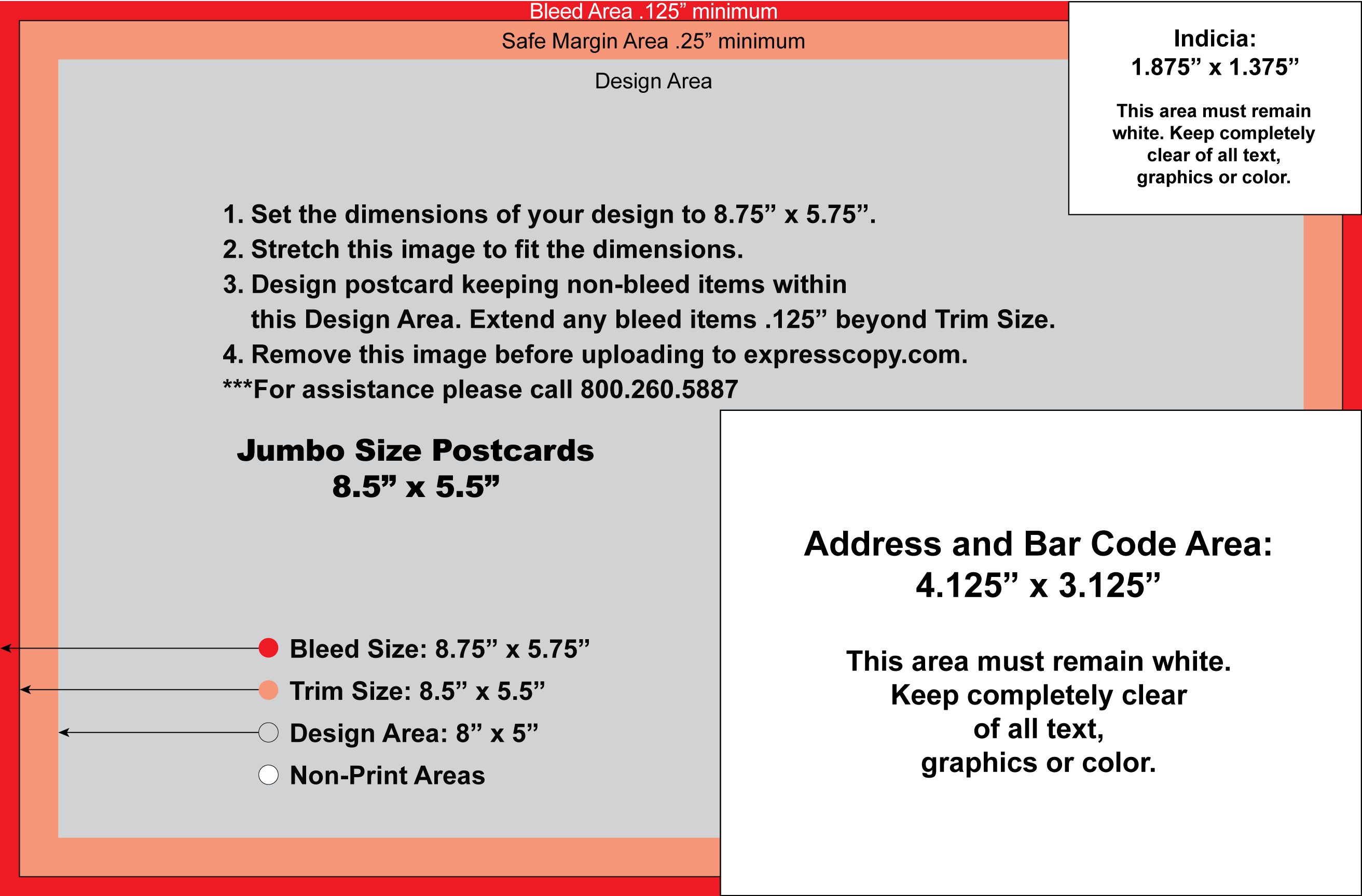 jumbo postcard template postcard specifications postcard postal regulations
