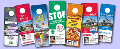 Superb Door Hanger Template Designs