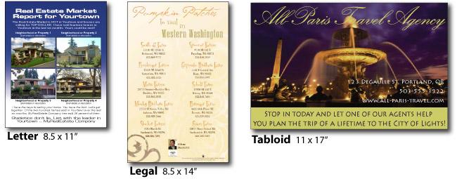 flyers  u0026 brochures printing online