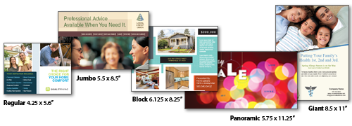 Direct Mail Postcards; Postcard Printing and Mailing