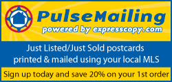 Pulse Mailing automated Just Listed/Just Sold postcards from your MLS