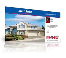 Real Estate Postcards; quick, affordable and effective