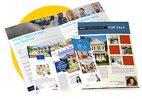 Flyers & brochures that stand out