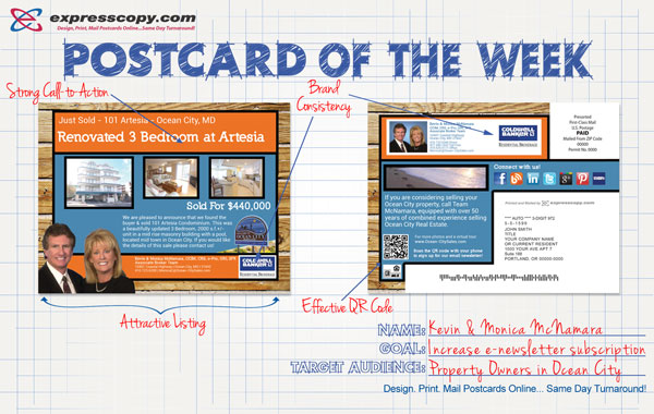 Expresscopy.com Postcard of the Week: Monica McNamara ...