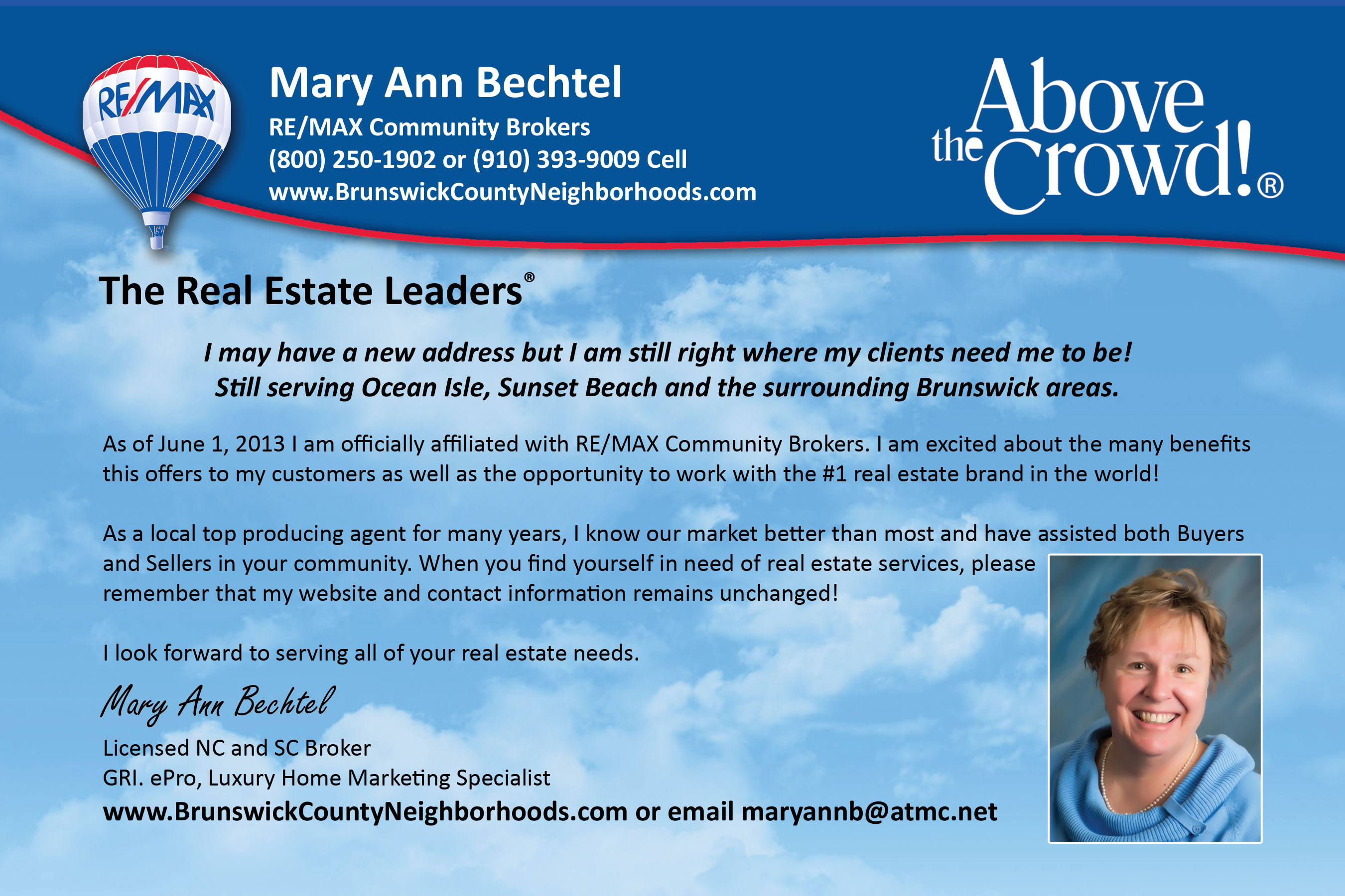 Expresscopy Postcard of the Week Mary Ann Bechtel – Real Estate Marketing Postcard Templates