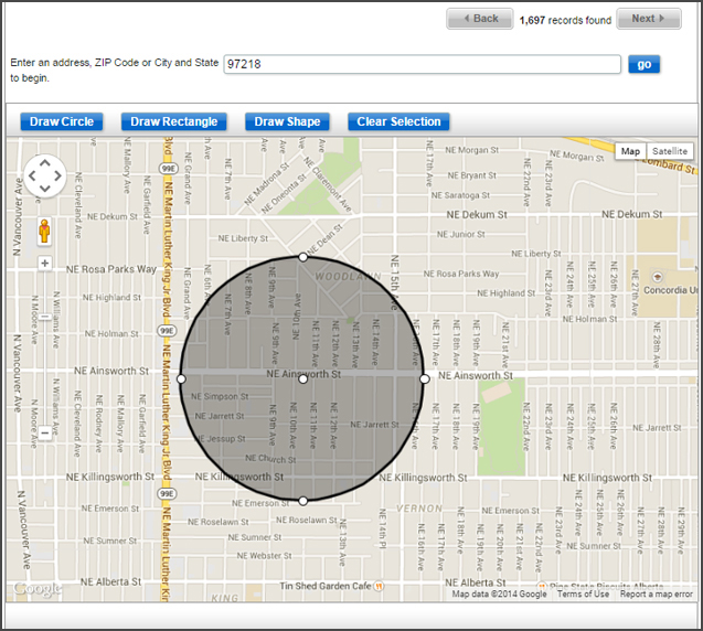 Introducing the New Map Tool for Postcard Mailings - expresscopy.com on