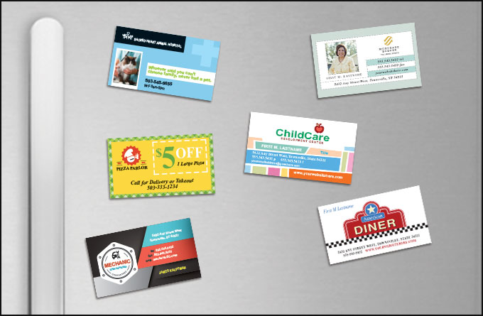 5 Creative ways to use magnetic business cards | expresscopy.com Blog